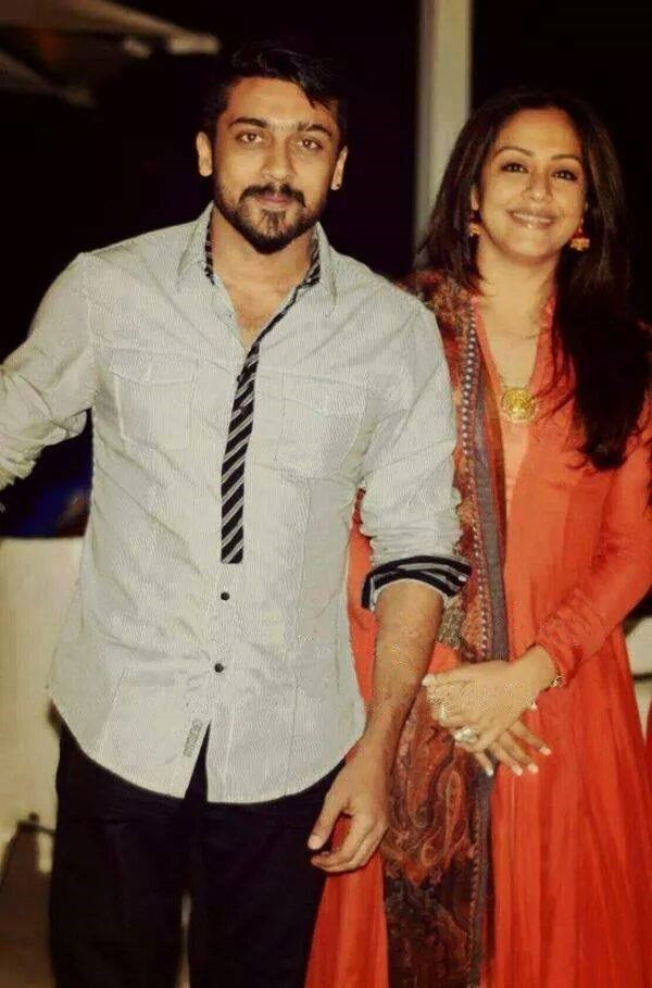 Jyothika: Suriya is a supportive husband and has given me ...