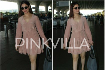 Airport Diaries: Tamannaah Bhatia spotted in Mumbai