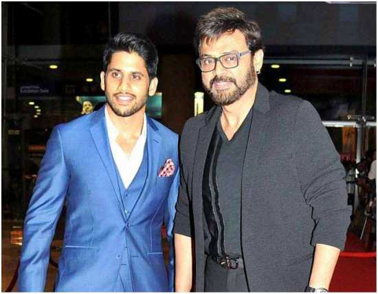 Venkatesh and Naga Chaitanya to collaborate for a multi-starrer?