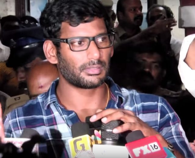 Vishal's anti-piracy drive yield results; Police arrest a man associated with one of the biggest piracy site