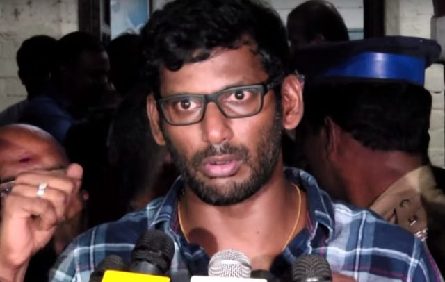 Vishal comes up with unique ideas to curb down piracy in theatres in Chennai