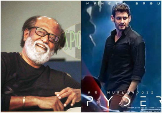 Super Star Rajinikanth heaps praised on Mahesh Babu's Spyder