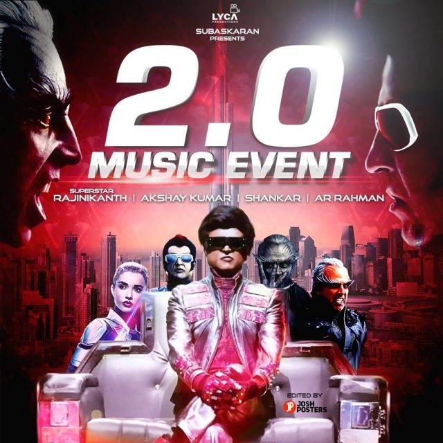 2.0 Music Review: 'Endhira Logathu' and 'Raajali Nee Gaali' are trademark A R Rahman style and will grow on you