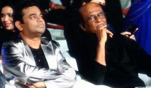 Photos: From Superstar Rajinikanth's entry to A.R.Rahman's Live performance, 2.0 Audio Launch was a starry event
