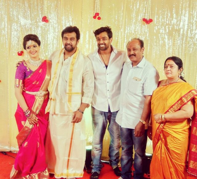 Sandalwood actors Chiranjeevi Sarja and Meghana Raj get hitched