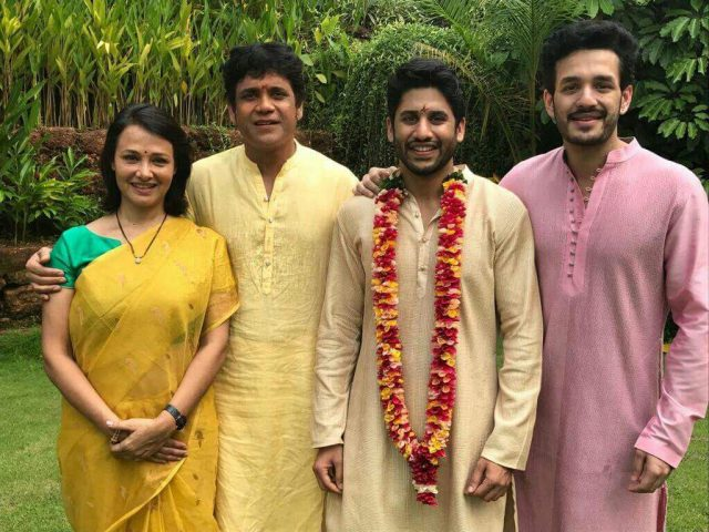 Naga Chaitanya and Samantha Ruth Prabhu wedding: Akkineni Nagarjuna unveils the bridegroom
