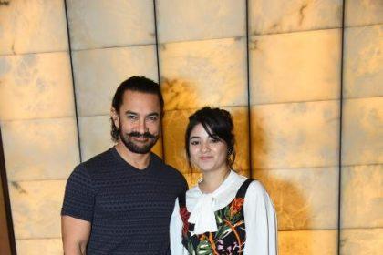 आमिर खान प्रोडक्शंस की 'सीक्रेट सुपरस्टार' जायरा वसिम की दूसरी रिलीज फ़िल्म है।