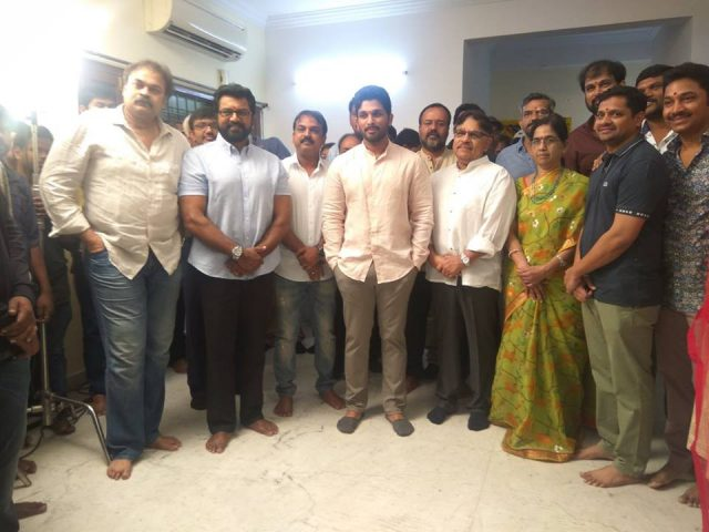 Allu Arjun's 'Naa Peru Surya' to be released on 29 April 2018, confirms producer Bunny Vas