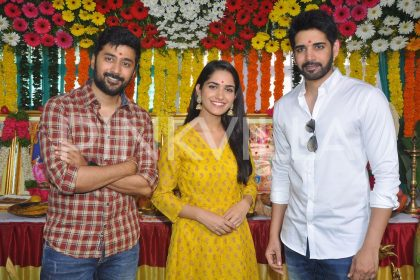 Photos: Rahul Ravindran's directorial venture with Sushanth titled Chi La Sow gets launched today
