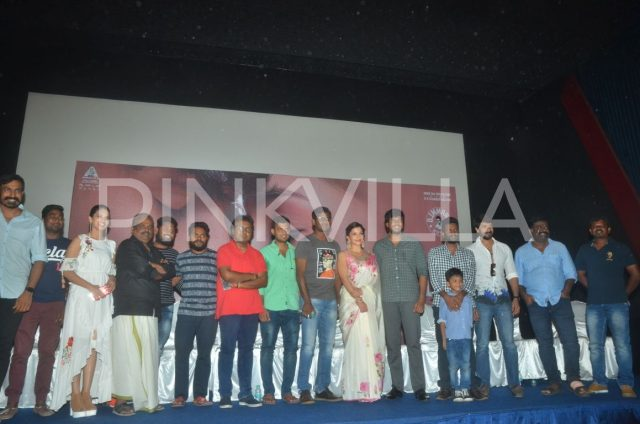 Photos: Trailer of 'Nenjil Thunivirundhal' starring Sundeep Kishan and Mehreen Pirzada gets launched