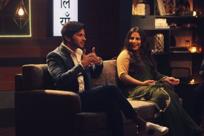 Dulquer Salmaan and Vidya Balan attend a fun talk show hosted by Abish Mathew