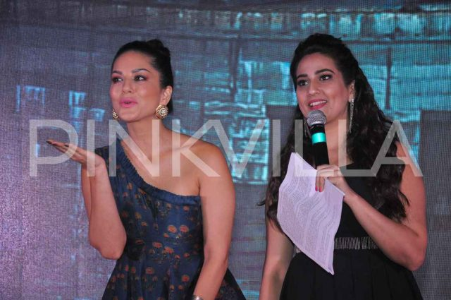 Photos: Pre-release event of PSV Garuda graced by Sunny Leone, Pooja Kumar, Shraddha Das and Rajasekhar