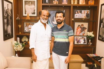 Solo Director Bejoy Nambiar has a fan moment as he meets Rajinikanth