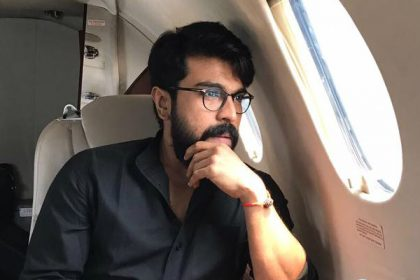 Ram Charan takes a break after wrapping a hectic schedule of Rangasthalam