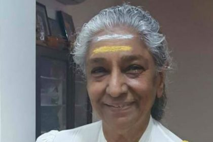 The legendary S Janaki calls time on her career after stunning Mysuru one last time