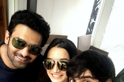 Awesome: Sahoo actors Prabhas, Shraddha Kapoor and director Sujeeth post first selfie