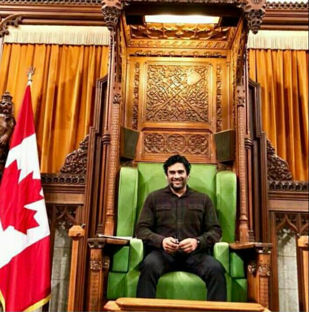 R Madhavan visits the Parliament of Canada and these photos are spectacular