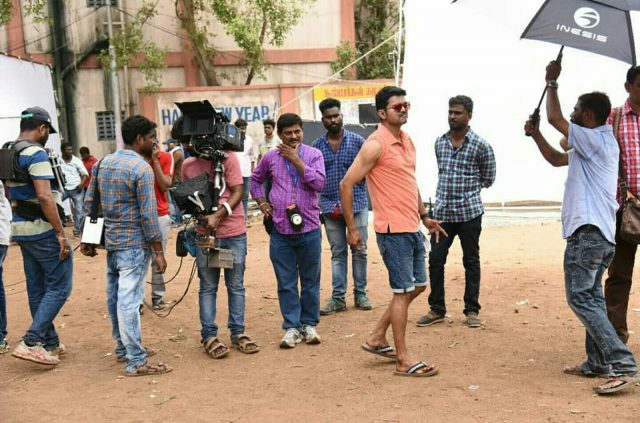 Photos: A sneak-peek into the making of Vijay's 'MERSAL'