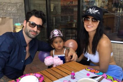 देखए सनी लियोन ने मनाया बेटी निशा का जन्मदिन