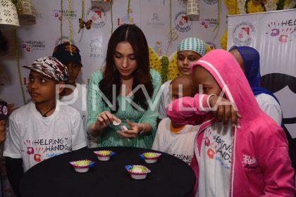 Photos: Tamannaah visits a charity organisation