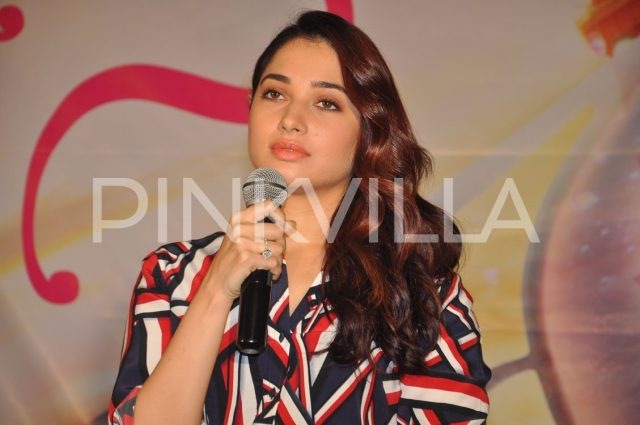 Young man hurls slipper at Tamannaah Bhatia at an event in Hyderabad