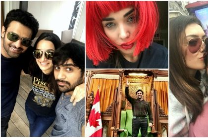 Top Photos of the Week: From audio launch for 2.0, R Madhavan's Canadian Parliament visit to Hansika's holiday, here are the social media stars of the week
