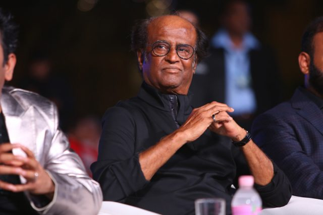 Have one unfulfilled dream, says Rajinikanth speaking at the audio launch of 2.0