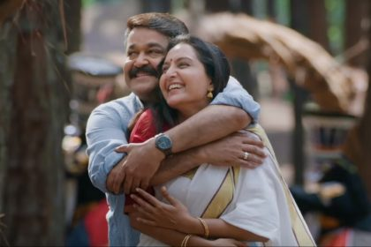 Mohanlal and Manju Warrier epitomize elegance in the song 'Kandittum Kandittum' from 'Villain'
