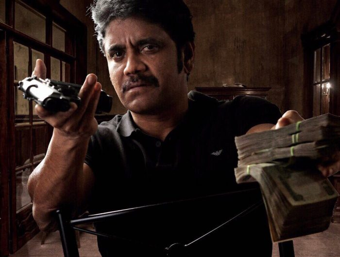 First Look: Nagarjuna looks ferocious in the posters of his upcoming film with Ram Gopal Varma