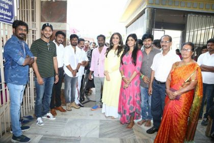 Photos: Dulquer Salmaan and Ritu Varma's Tamil 'Kannum Kannum Kollaiyadaithaal' gets launched officially