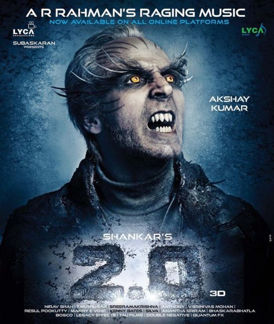 Avatar Release New Movie: 2.0 Latest Poster: Akshay Kumar's New Avatar Is Bound To