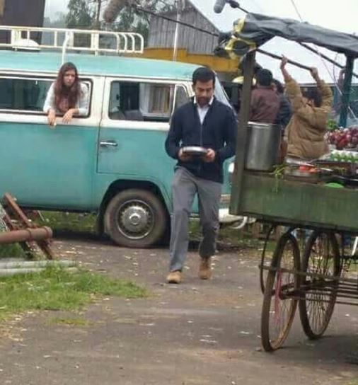 See Photo: A picture from the shooting location of Anjali Menon's film with Nazriya and Prithviraj is going viral
