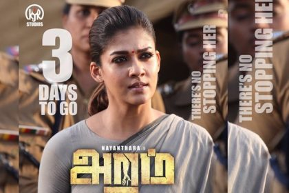 Nayanthara gave her all to Aramm, says director