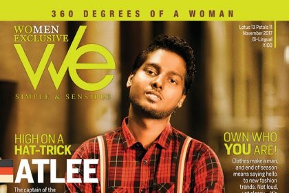 Mersal director Atlee looks stylish on the cover of a leading magazine