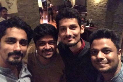 Photos: Siddharth and Andrea celebrate the success of Aval