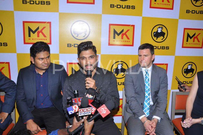Photos: Allu Arjun brings Buffalo Wild Wings to Hyderabad as B-Dubs