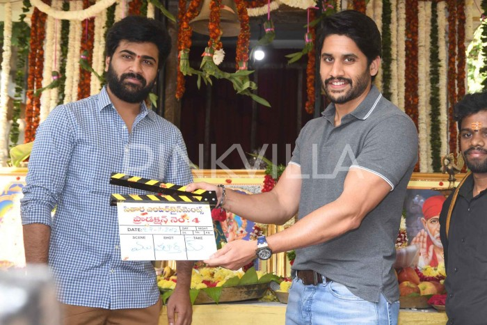 Photos: Sharwanand's next with Sudheer Varma gets launched and Naga Chaitanya is the special guest
