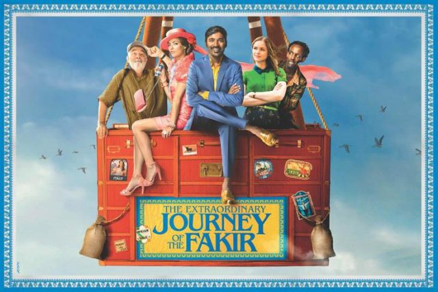 Photo: First look poster of Dhanush's Hollywood debut film 'The Extraordinary Journey of the Fakir' is out now