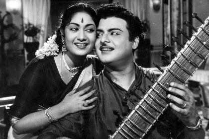 These photos of 'Kadhal Mannan' Gemini Ganesan are priceless
