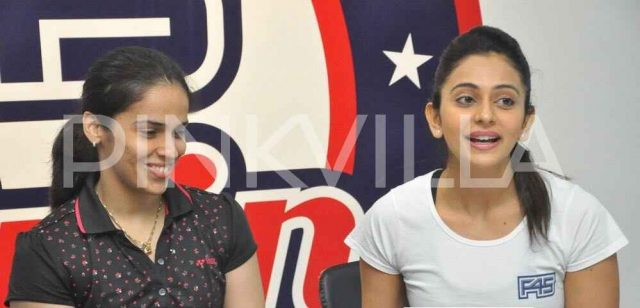 Rakul Preet expands her fitness centre chain; Saina Nehwal inaugurates another on in Hyderabad