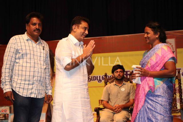Photos: Kamal Haasan holds a meeting with fan associations ahead of his birthday