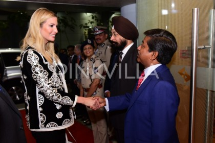 Photos: Ivanka Trump arrives in Hyderabad for GES 2017