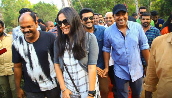 Photos: Jyothika and Suriya launch the first look of Nivin Pauly's Kayamkulam Kochunni