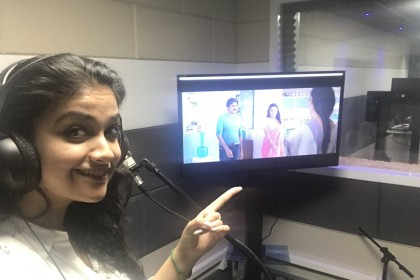 PSPK 25: Keethy Suresh dubs in Telugu for the first time ever