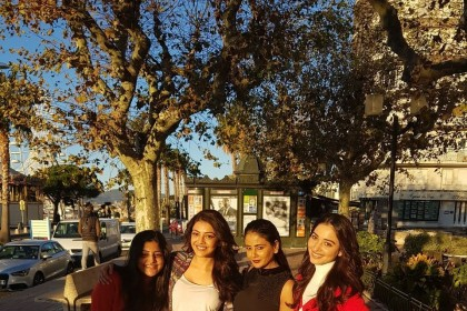 Four Queens in one frame: This photo of Kajal, Tamannaah, Parul and Manjima is golden