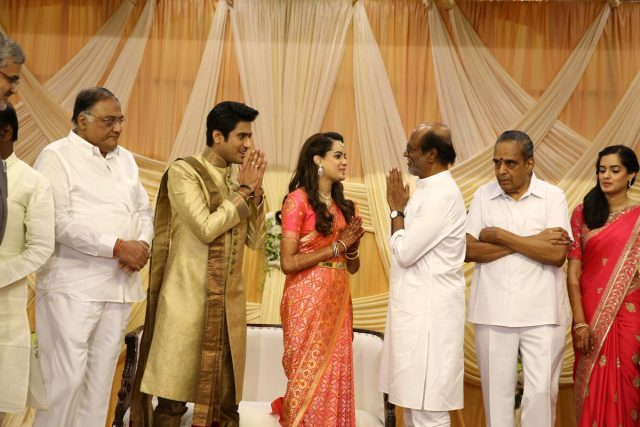 Rajinikanth attends a function organised by a noted family
