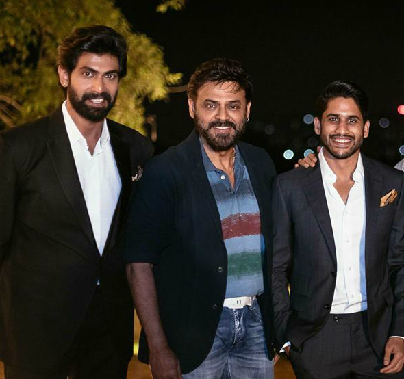 Rana Daggubati and Naga Chaitanya to play cameos in Venkatesh's next with director Teja?