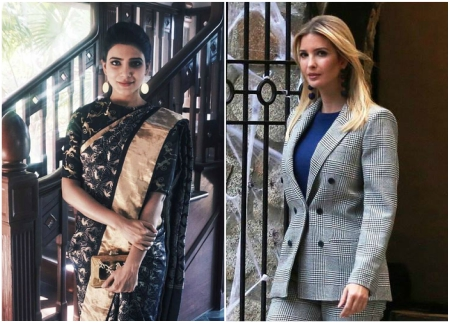 GES 2017: Samantha Akkineni to gift a handloom saree to Ivanka Trump during her visit