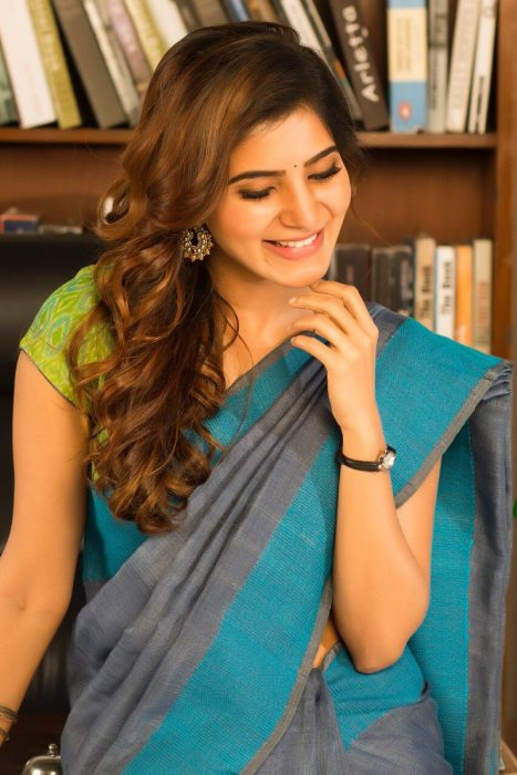 Samantha's look in Vishal's Irumbu Thirai will leave her fans asking for more