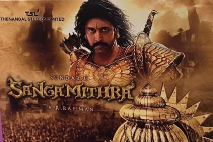 Jayam Ravi starrer Sangamithra has a number of war sequences in water, reveals its concept artist